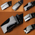 New Luxury Leather Men's Automatic Buckle Fashion NO Waist Strap Belt Waistband