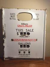 ~NICE~ Original Gilbarco Gas Pump Face Plate