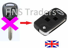 Toyota RAV 4 CELICA PRIUS Landcruiser PICNIC 2 Button Conversion Flip Key + LOGO