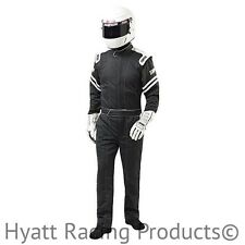 Simpson Legend II Auto Racing Fire Suit SFI-1 (X-Large / Black)
