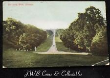 Old Postcard of The Long Walk, Windsor, 1909