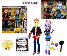 Monster High HOME ICK Double The Recipe Boy HEATH BURNS & ABBEY BOMINABLE 2 Doll