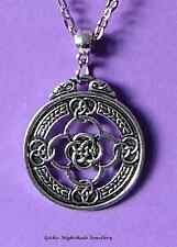 Celtic Warrior's Shield of Protection Necklace  Pagan Wicca