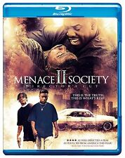 MENACE II SOCIETY : The Director's Cut -  Blu Ray - Sealed Region free   2 to