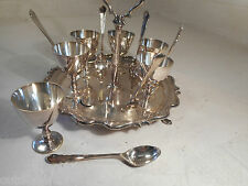 Silver Plate Egg & Spoon Cruet Set , 1471  29/3 KP 12 rx