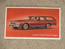 Caprice Classic Station Wagon, unused