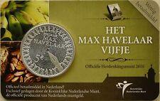 5 EURO PAYS-BAS 2010 UNC - 150 ANS DU ROMAN MAX HAVELAAR PAR MULTATULI