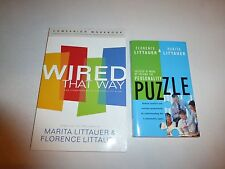 2 Lot by Marita Littauer, Wired That Way Companion Workbook Personality Puzzl173