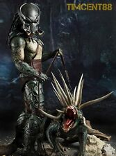 In Stock! Hot Toys 1/6 Tracker Predator & Hound Figure Sideshow