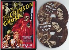 THE CRIMSON GHOST 1946 Republic Serial on 2-DVDs Linda Stirling Clayton Moore