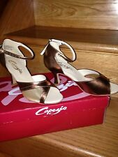 NIB Capezio Latin/Ballroom/Salsa/Competition/Dance Women Shoes Size 5 Heel 2.5""