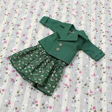 "For 12"" Neo Blythe doll Takara doll Green Skirt suit jacket Clothes 2pcs"