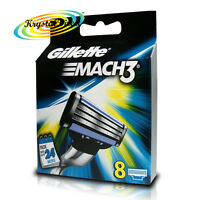 Gillette Mach3 Replacement Blades Cartridges Pack of 8 Genuine