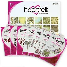 Heartfelt Creations MONKEYING AROUND Collection Paper Dies Stamps Set BUNDLE Lot