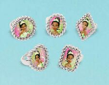 TIANA JEWELED RINGS Disney Princess & Frog birthday party supplies 12 favors