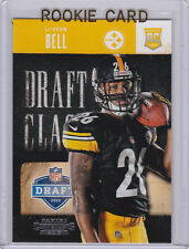 Le'Veon BELL ROOKIE CARD Pittsburgh Steelers RC Leveon 2013 Contenders NFL DRAFT