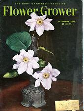 Flower Grower Magazine November 1947 VG 071316jhe