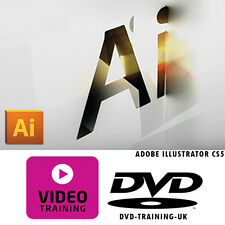 Adobe Illustrator CS5 – Professional Video Training Tutorial DVD - FREE P+P