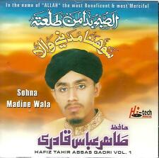 HAFIZ TAHIR ABBAS QADRI - SOHNA MADINE WALA - VOL.1- NEW CD - FREE UK POST