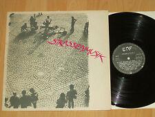 LP STRASSENMUSIK - AUFGENOMMEN 1981 IN DEN STRAßEN DEUTSCHER GROßSTÄDTE