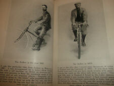 Book J Pearson Reminiscences Early Life Cycling & Touring Experience Signed 1933