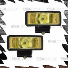 High Performance Rectangular Driving Fog Light Kit Amber For Off Road Truck Jeep