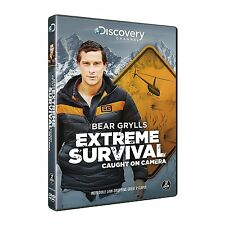 BEAR GRYLLS Extreme Survival Caught on Camera DVD in Inglese NEW .cp