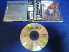 Black Sabbath Self Titled Japan Obi CD Digital Re-Mastered TECW 20142