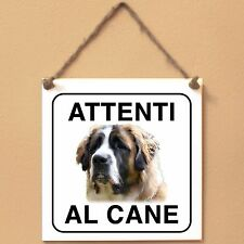 Moscow Watchdog 2 Attenti al cane Targa cane cartello ceramic tiles