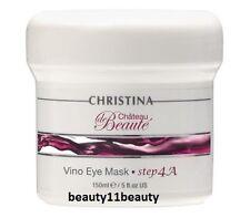CHRISTINA Chateau de Beaute Vino Eye Mask (Step 4A) 150ml + samples