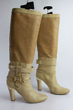 Bottes FABI Tout Cuir Beige Made in ITaly T 36 TBE