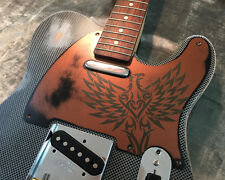 Relic Copper Phoenix Eagle Custom Bakelite Pickguard Fender® Telecaster® 5 Hole