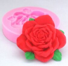 FD2311 Flower Rose Silicone Baking Mould Cake Chocolate Soap Candle Mold Craft