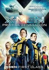 X-Men: First Class / Primera Generacion (DVD, 2014, Spanish) NEW@