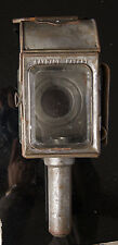 Antique Vintage RAYDYOT Carriage Coach Candle Lamp Lantern  Hand Held / Hanging
