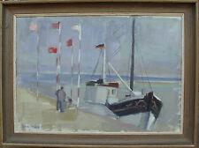 Onu Svärd * 1924, Deutscher barco pesquero en el puerto para 1950