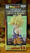 DRAGON BALL Z WCF BATTLE OF SAIYANS Vol.3 GOKU GOKOU SS NEW FIGURE NUEVA
