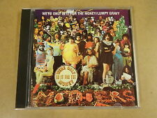 CD / FRANK ZAPPA - WE'RE ONLY IN IT FOR THE MONEY / LUMPY GRAVY