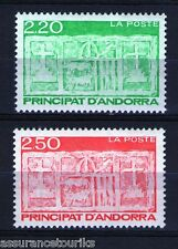 ANDORRE - 1991 YT 410 à 411 - TIMBRES NEUFS** LUXE