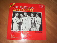 THE PLATTERS - GOLDEN HITS! NM 1st PROMOTION ALBUM HOLLAND PRESS 135951.2Y