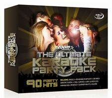 Zoom Ultimate Karaoke Party Pack - 90 Classics, 6 CDG/CD+G Discs Box Starter Set