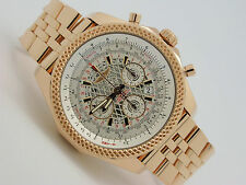 Breitling Bentley B06 Rose Red Gold Automatic Chronograph Watch RB0611 No. 191