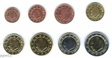 Belgium (mixed Dates) - Set of 8 Euro Coins (UNC) **RARE**