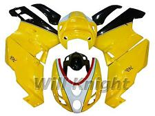 ABS Injection Mold Yellow Body Panel Fairing Kit for Ducati 749 999 2003 2004