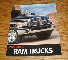 Original 2005 Dodge Ram Trucks Deluxe Sales Brochure 05