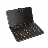 "7 Inch Mid Keyboard Flip Stand Case Cover USB Keyboard Leather Case for 7"" Table"