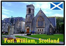 FORT WILLIAM, SCOTLAND - SOUVENIR JUMBO FRIDGE MAGNET - BRAND NEW / GIFT