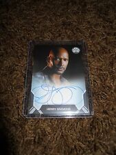 AGENTS OF SHIELD SEASON 2 HENRY SIMMONS BOARDERED AUTOGRAPH TRADING CARD