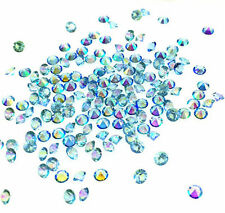 2000 Light blue Wedding Decoration Scatter Crystals Table Diamonds Confetti 3mm