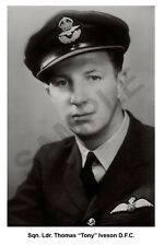 aviation art pilot photo postcard WW2 TONY IVESON 617 Squadron Dambuster TIRPITZ